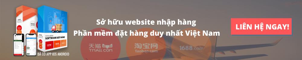 Sở hữu website nhập hàng, đặt hàng