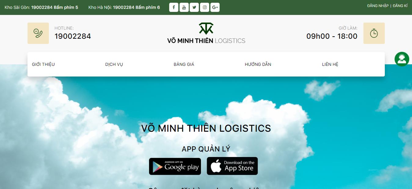 Website nhập hàng TQ - Võ Minh Thiên