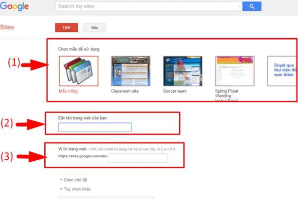 Google Site có lẽ là cái tên phổ biến nhất trong việc xây dựng website miễn phí.