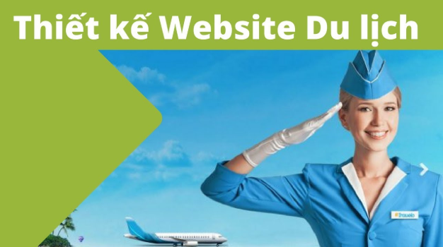 Thiết kế website du lịch.