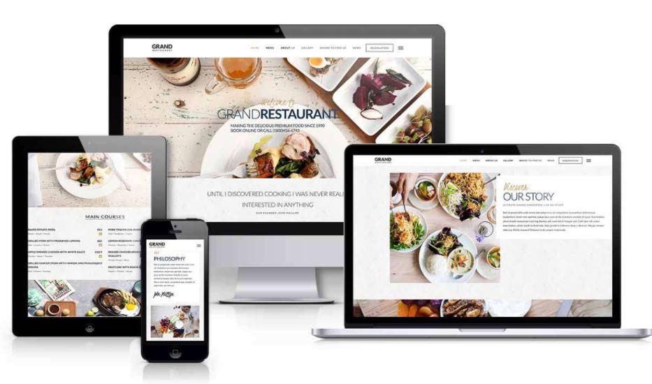 Thiết kế website nhà hàng mang tới nhiều lợi ích lớn