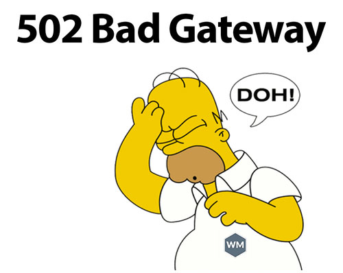 Lỗi 502 bad gateway là gì?