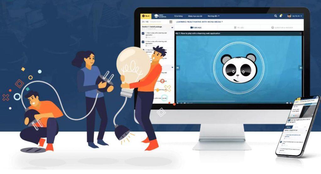 phần mềm quản lý trung tâm giáo dục Mona eLMS