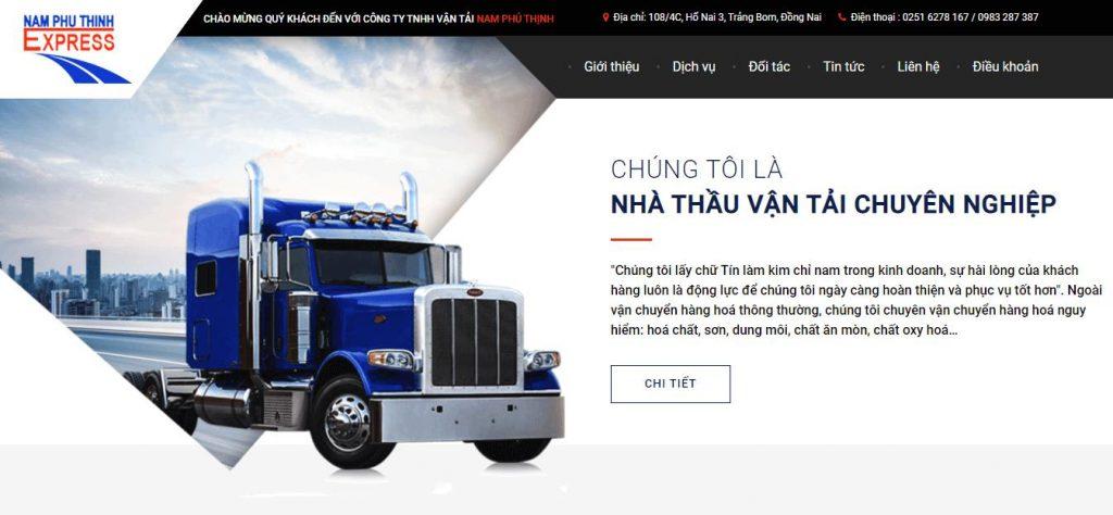 Công ty vận chuyển hàng háo Nam Phú Thịnh uy tin