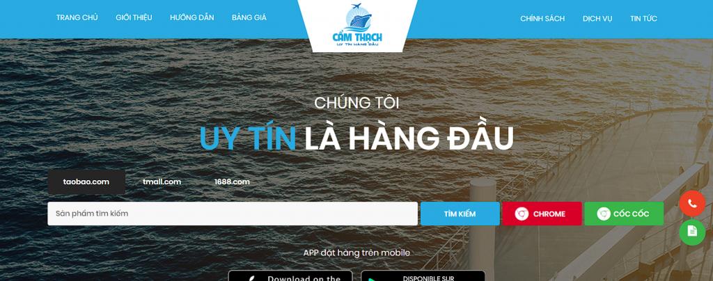 Cẩm Thạch Company: Dịch vụ vận chuyển hàng hóa Trung Việt