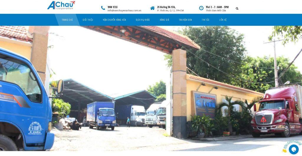 Công ty vận tải hàng hóa Á Châu