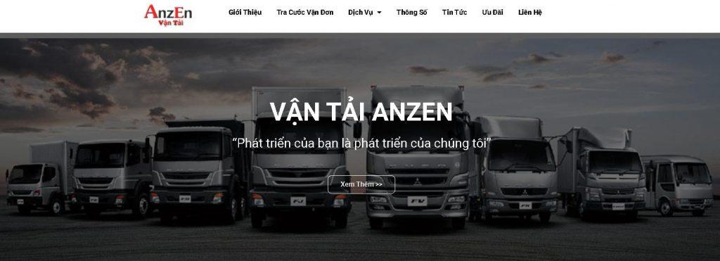 Công ty vận chuyển hàng hóa anzen uy tín