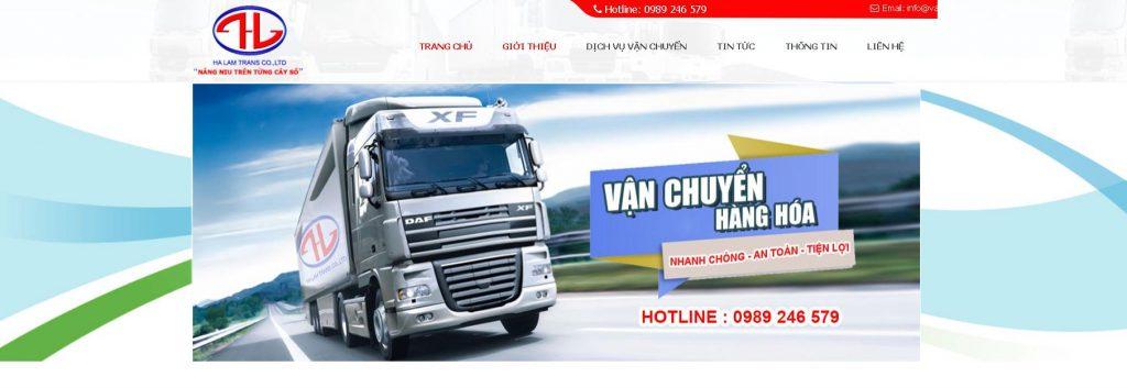 Công ty vận tải Hà Lâm