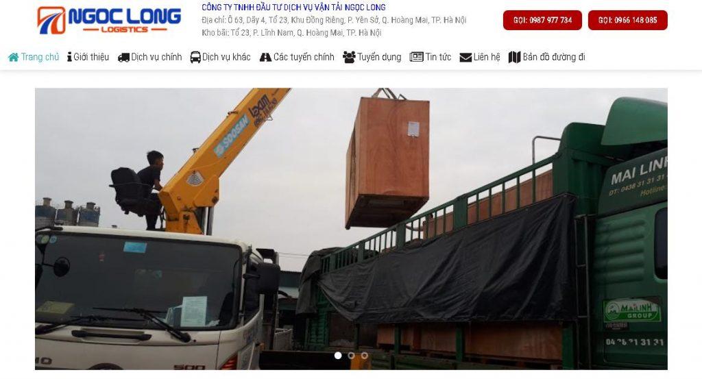 Công ty vận chuyển Bắc Nam Ngọc Long