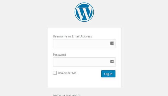 Lấy lại mật khẩu WordPress qua màn hình đăng nhập
